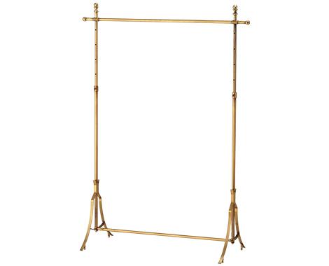 Antique Gold Garment Rack